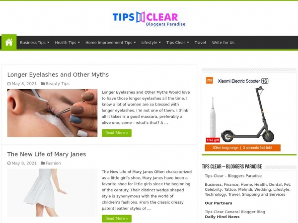 tipsclear.com