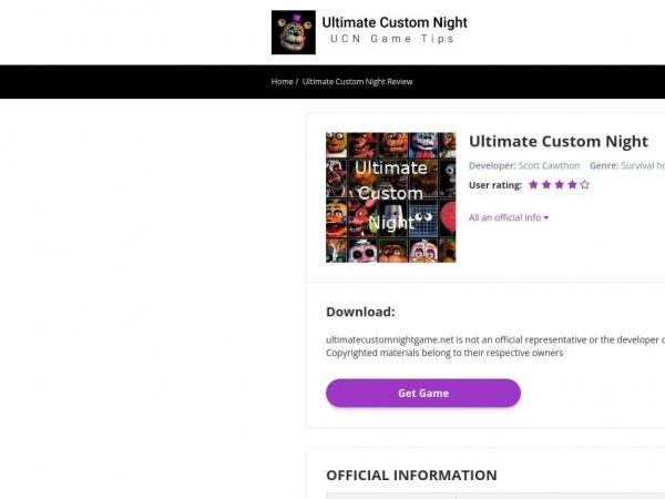 ultimatecustomnightgame.net