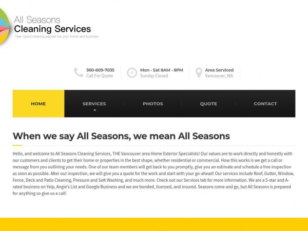 seasonscleaningservices.com